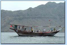 Dhow trip at Khasab, Oman
