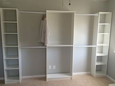 Converted 3rd Bedroom into walk in Ikea Closet - Album on Imgur