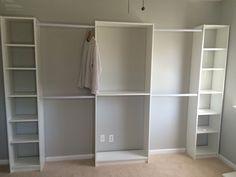 Converted 3rd Bedroom into walk in Ikea Closet - Album on Imgur