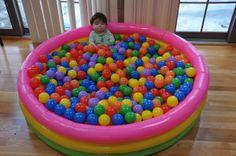 kiddie pool ball pit