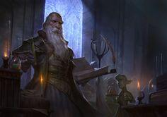 The Alchemist\'s Workshop by Even Mehl Amundsen | Fantasy | 2D | CGSociety