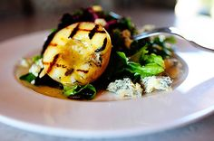 Grilled Nectarine Salad. Oh, so lovely!