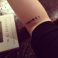 phases of the moon wrist tattoo - Google Search