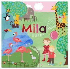 Mila in de dierentuin door Zwiep.