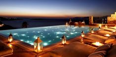 Stunning view from a hotel located on the Mykonos Island [700x345]