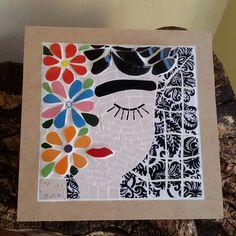 Danielle Santana Mosaic Pots, Mosaic Garden, Mosaic Glass, Mosaic Tiles, Mosaic Artwork, Mosaic Wall Art, Mosaic Crafts, Mosaic Projects, Mosaic Designs