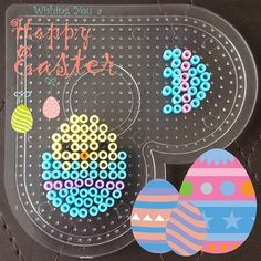Easter egg hama beads by artbitmx