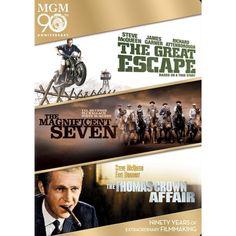 The Great Escape/The Magnificent Seven/The Thomas Crown Affair [3 Discs]