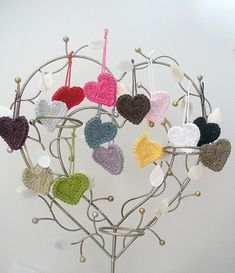 Ravelry: Heart Applique free pattern by Heloise Victoria