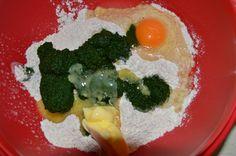 Špenátové halušky so šampiónovou omáčkou :: Fitrecepty