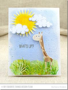 Jungle Friends: MFT April Card Kit Countdown, Day Two