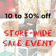 Our store wide sale is on now with savings of 10-30% off! Visit our warehouse showroom Mon-Fri 12-6 & Saturday 12-5 located at 388 Carlaw Ave Unit 102 Or... Shop online www.zenporium.com  #shoponline #storewidesale #getitwhileitlasts #rusticfurniture #recalimedwoodfurniture #salvagedwoodfurniture #coffeetables #benches #sidetables #petrifiedwood #desks #InteriorDesign #rusticdecor #solidwood #furniture #Cahaya #Zenporium #guiltfreewood  Petrified Wood, Rustic Furniture, Desks, Benches, Rustic Decor, Showroom, Warehouse, Solid Wood, Events