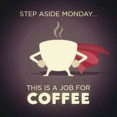 Thanks goodness coffee can get us through our Monday! #Coffee #Funny #MrCoffee