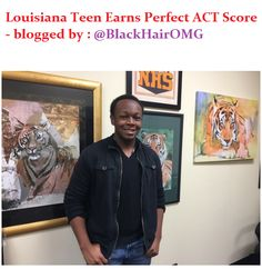 Louisiana Teen Gets Perfect ACT Score - blogged by https://www.instagram.com/blackhairomg - ⠀⠀⠀⠀⠀⠀⠀ 16 year-old Darius Washington of Monroe, Louisiana, has reportedly earned a rare perfect score on the ACT, the leading US college admissions test. ⠀⠀⠀⠀⠀⠀⠀ According to The News-Star, the Neville High School student was shocked at his results because he didn't think he had done that well. But when he checked his results, he found out he scored a perfect 36 on the test. ⠀⠀⠀⠀⠀⠀⠀ Darius said...