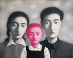 Zhang Xiaogang, Bloodline Series - Big Family. (One child policy. China)
