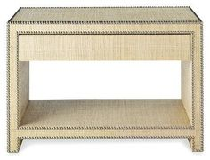 Raffia Wrapped Meade Nightstand - from now defunct :-(  Williams-Sonoma Home
