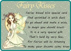 Send some magical fairy dust kisses to someone magical in your life. Free online Fairy Kisses ecards on Inspirational Fairy Dust, Fairy Tales, Words Of Strength, Im Thinking About You, Bunch Of Flowers, Original Song, Feeling Special, Name Cards, Sympathy Cards