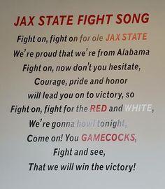 Proud of Jacksonville State University.....