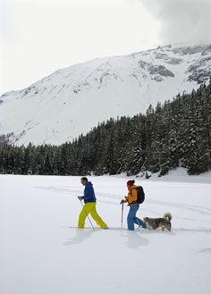 Winter in Austria: Snowshoeing is a wonderful way to experience Tirol's winter wonderland.