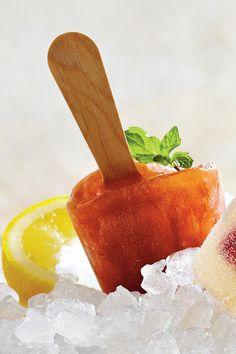 Kentucky Derby Recipes: Sweet Tea Julep Pops