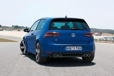 Volkswagen has revealed its new Golf R, based on the seventh-generation Golf. Read more about the new hottest-specification Golf at Car and Driver. New Golf Gti, Vw Golf R, Volkswagen New Car, Volkswagen Models, 4x4, Golf Estate, R Wallpaper, Car Images, Car And Driver