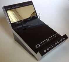 tester de mostrador Bellissima planchitas y rizadores - diseño y producción