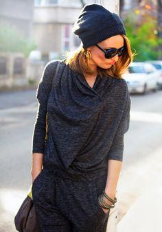GRAY MATTERS ~ Carmen Negoiță #fall #grey #jumpsuit