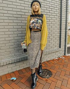 Mode Grunge, Hipster Grunge, 90s Grunge, Grunge Style, Edgy Outfits, Mode Outfits, Skirt Outfits, Fashion Outfits, Womens Fashion
