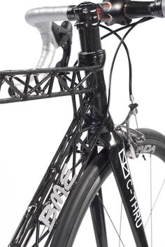 "BME carbon truss ""C-Thru"" frame"