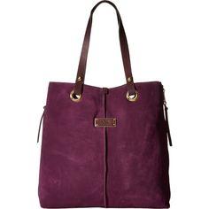 UGG Seldon Tote (Aster) Tote Handbags (11.365 RUB) ❤ liked on Polyvore featuring bags, handbags, tote bags, purple, purple leather tote, purple leather purse, purple tote bags, leather totes and purple purse
