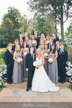 Must Have Family Wedding Photos ❤ See more: www.weddingforwar… Must Have Family Wedding Photos ❤ See more: www. Wedding Fotos, Wedding Pics, Wedding Dresses, Trendy Wedding, Gray Bridesmaid Dresses, Wedding Ideas, Family Wedding Pictures, Wedding Group Photos, Bridesmaid Poses