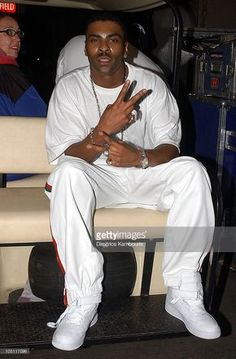 Ginuwine during Z100's Zootopia 2003 - Backstage at Giants Stadium in East Rutherford, New Jersey, United States.