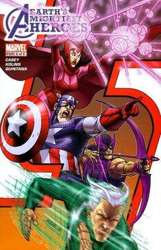 Avengers: Earth's Mightiest Heroes # 8 by Scott Kolins