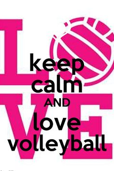 ...Love Volleyball