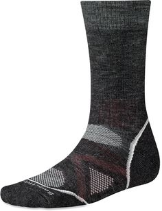 Smartwool PhD Outdoor Medium Crew Socks feature a durable blend of wool, nylon and elastane, as well as a comfortable fit and smart design for great performance. Best Hiking Socks, Men Hiking, Best Waterproof Boots, Track Bag, Survival Backpack, Winter Hiking, Go Bags, Back Home, Crew Socks