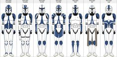 501st Legion Howlrunner Company by MarcusStarkiller on DeviantArt
