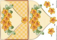 Fabulous Florals Envelope Card Front 3