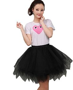 Adult Women's 50s Vintage Rockabilly Tutu Petticoat Ballet Bubble Skirt Dancewear (Black)   Special Offer: $20.99      488 Reviews Womens 50's 60's Rockabilly Tulle A-line Swing Skirts Adult Ballet Tutu SKirts 37 Clolors AvailableMaterial:PolyesterSize:One size,dress...