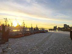 Wintersonne im Hafen  Mein Blog #tumblr #coolefotos IFTTT Hamburg hamburg