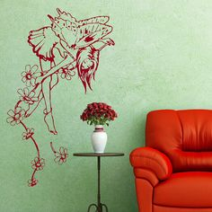 Big Fairy Modern Removable Wall Stickers / by WallStickersExtra, £19.99