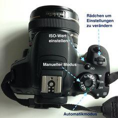 Wie stelle ich meine Kamera manuell ein?