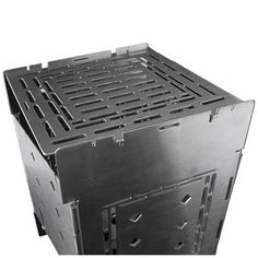 Firebox Stove - A collapsible, lightweight, and portable stainless steel stove.