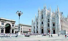 """Mailand ist die Hauptstadt der Lombardei & nicht nur für Kenner der Modeszene von Interesse. Opernliebhaber oder Kunstfreunde kommen in der Scala oder beim Anblick von Leonardo da Vincis """"Letztes Abendmahl"""" in der Kirche """"Santa Maria delle Grazie"""" gleichermaßen auf ihre Kosten wie Sportbegeisterte bei einem Fußballspiel des AC Milan. Beste Reisezeit: Im Frühjahr & Herbst ist es meist mild und Nebelfrei"""