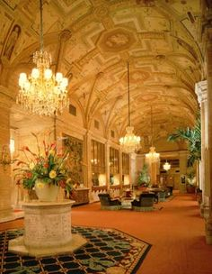 Breakers Hotel Lobby Breakers Hotel, Breakers Palm Beach, Hotels And Resorts, Best Hotels, Beautiful Hotels, Beautiful Places, Forever Florida, Most Luxurious Hotels, Amazing Spaces