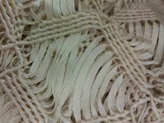 Woven heavy lace