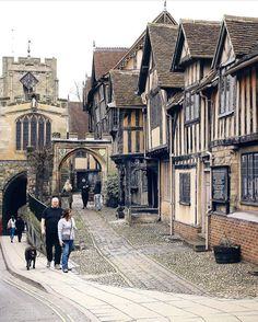 Beautiful Warwick England