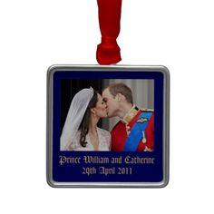 Royal Wedding Ornaments