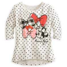 Minnie Mouse Tee for Women | Tees, Tops & Shirts | Disney Store