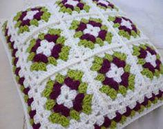 Nice crochet pillow