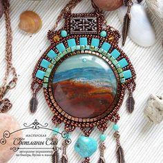 """Jewelry set about seashore Комплект про море и берега. Нашел хозяйку…"